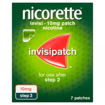 Nicorette Invisi Patch 10mg/16hours 7 Patches