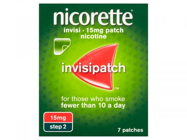 Nicorette Invisi Patch 15mg/16hours 7 Patches
