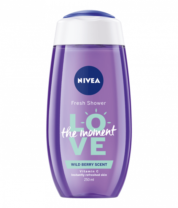 Nivea Shower Gel Love the Moment Wild Berry 250ml