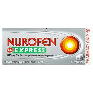 Nurofen Express 200mg 24 Tablets