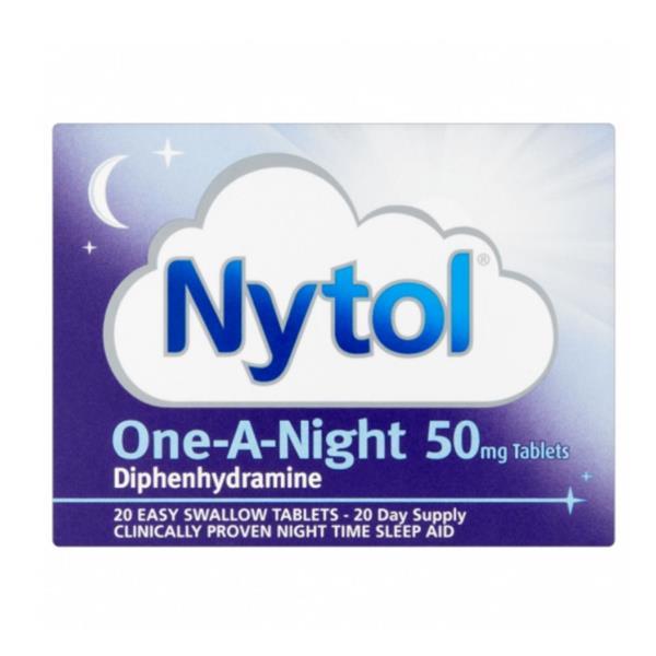 Nytol 20 Tablets