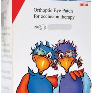 OPTICLUDE EYE PATCHES JUNIOR 6.3X4.7CM 20 Patches