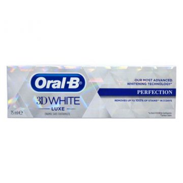 ORAL-B 3D PASTE WHITE LUXE PERFECTION 75ML