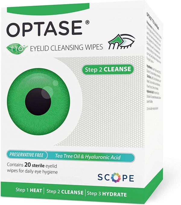 Optase Tea Tree Oil Eye Pads 20 Pads