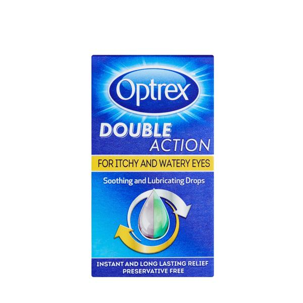 Optrex Double Action Eye Drops Itchy Eyes 10ml