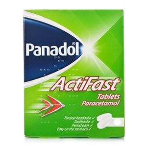 Panadol 500mg Actifast Soluble 12 Tablets