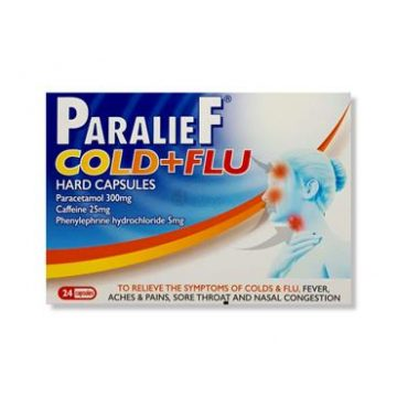 Paralief Cold & Flu 24 Hard Capsules