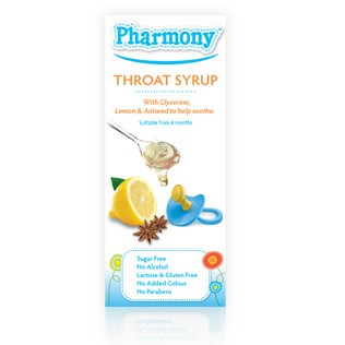 Pharmony Throat Syrup 100ml