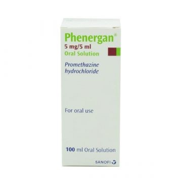 Phenergan 5MG/5ML Oral Solution 100ml
