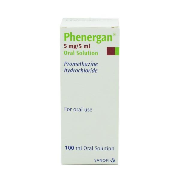 Phenergan 5MG/5ML Oral Solution 100ml