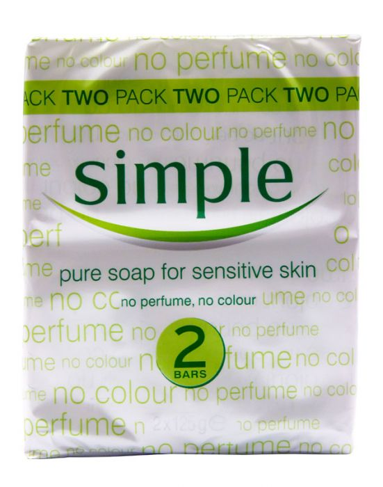 SIMPLE SOAP TWINPACK 2X125G