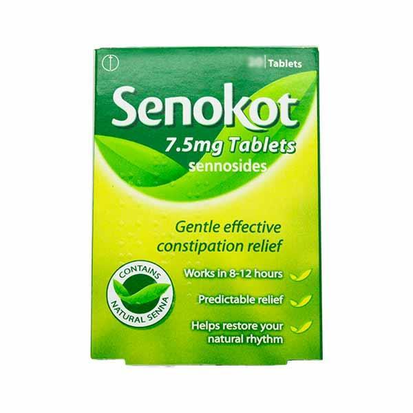 Senokot 7.5mg 100 Tablets