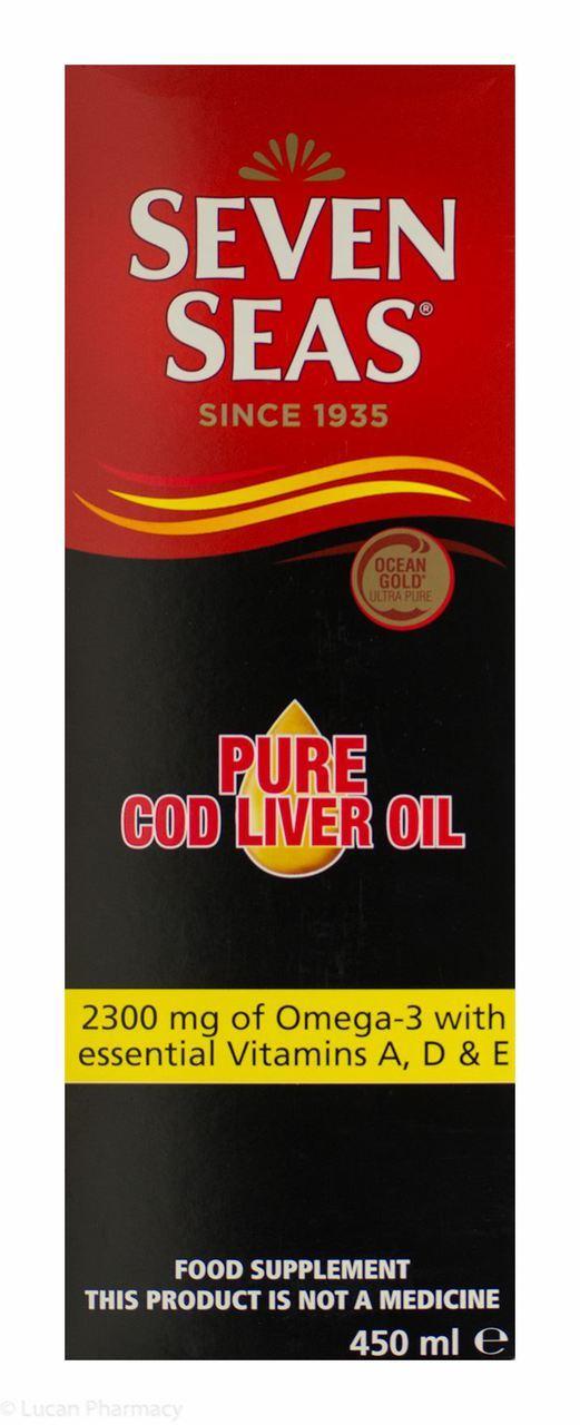 Seven Seas Cod Liver Oil 450ml