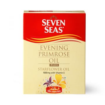Seven Seas Evening Primrose Oil & Starflower 1000mg 30 Capsules