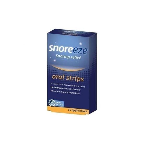 Snoreeze Snoring Relief 14 Oral Strips