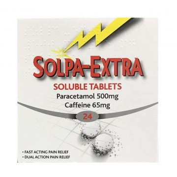 Solpa-Extra 500mg/65mg 24 Soluble Tablets