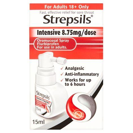 Strepsils Intensive 8.75mg Oromucosal Spray 15ml
