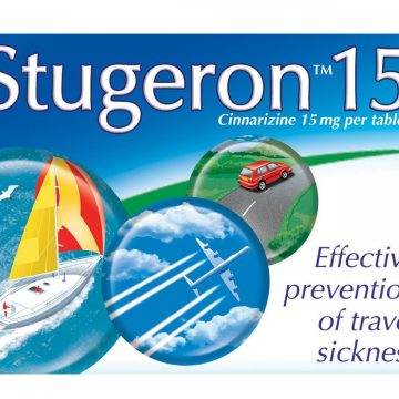 Stugeron 15mg 15 Tablets