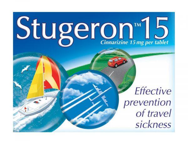 Stugeron 15mg 15 Tablets