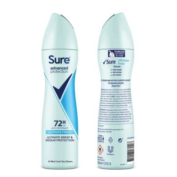 Sure Fw Apa Ultimate Fresh 200ml