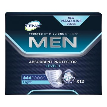 TENA MEN LEVEL 1 PADS LIGHT 12S