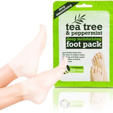 Tea Tree and Peppermint Deep Moisturising Pack (Foot Pack)