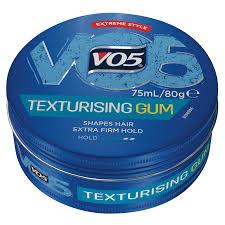 VO5 TEXTURISING GUM 75ML