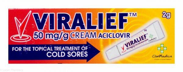 Viralief 50mg/g Cream 2g