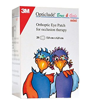 OPTICLUDE EYE PATCHES BOYS/GIRLS 6 X 5CM 30 Patches